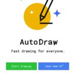 AutoDrawの使い方!Google お絵かきAIで超簡単にプロ級イラストを描く方法