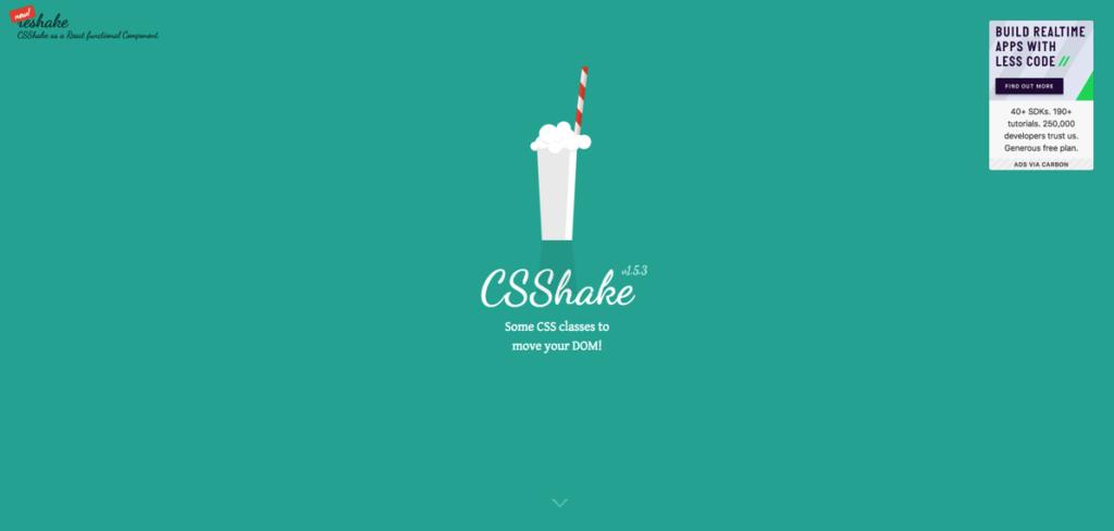 FireShot Capture 64  CSShake  https elrumordelaluz github io csshake
